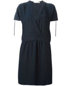 Cotélac   Cotton Blend Wrap-Style Shift Dress From