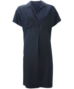 STILLS   Night Cotton And Silk Loose Fit Shirt Dress From