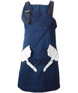 JAMIE WEI HUANG | Жаккардовое Платье С Контрастными Деталями