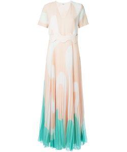 ISSA | Плиссированное Платье В Принт