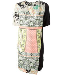 Etro | Платье С Панельным Дизайном И Принтом