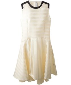 J. JS LEE | Расклешенное Платье С Контрастными Вставками