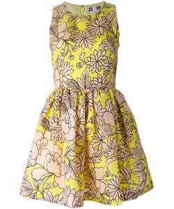 MSGM | Расклешенное Платье В Принт