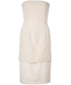 Alexander McQueen | Платье С Цветочной Вышивкой