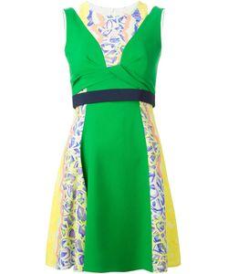 Peter Pilotto | А-Образное Платье С Контрастным Поясом