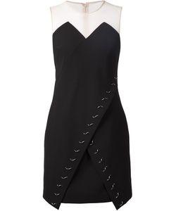 Marios Schwab   Декорированное Платье С Запахом