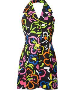 Moschino | Платье С Цветочным Принтом