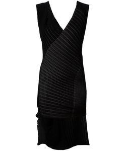 Alessandra Marchi | Вязаное Платье Без Рукавов В Рубчик