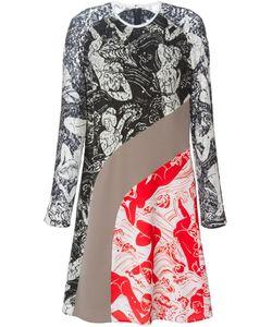 Carven | Платье С Контрастными Панелями