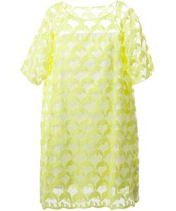 Tsumori Chisato | Прозрачное Платье С Вышитыми Дельфинами