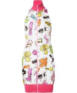 Moschino | Платье На Молнии С Высоким Горлом