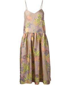 LA PRESTIC OUISTON | Multicoloured Silk Lili Flared Dress From