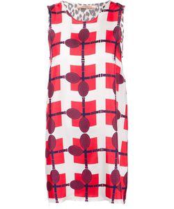 LA PRESTIC OUISTON | Multicoloured Silk Raquettes Dierdre Dress From
