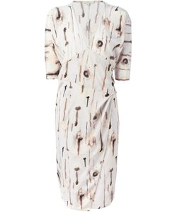 CORTANA | Nude Silk Blend Nawa Dress From