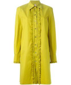 Antonio Marras | Платье-Рубашка С Отделкой Из Рюшей