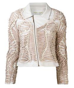 Iris Van Herpen | Куртка Со Сплошной Декоративной Шнуровкой