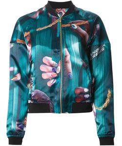 Andrea Crews   Куртка-Бомбер С Принтом