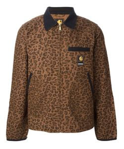 CARHARTT HERITAGE | Cotton Detroit Leopard Pattern Jacket From