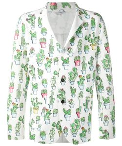 Kit Neale | Multicoloured Cactus Print Blazer From
