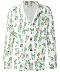 Kit Neale | Multicoloured Cactus Print Blazer From