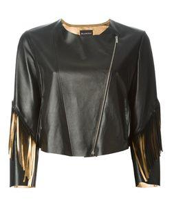 Blancha | Укороченная Куртка С Бахромой