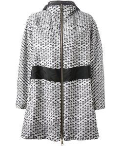 Moncler | Двусторонняя Куртка С Цепочным Принтом