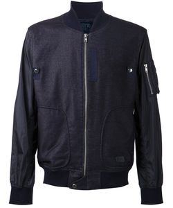 Prps Goods & Co. | Куртка-Бомбер С Контрастными Рукавами