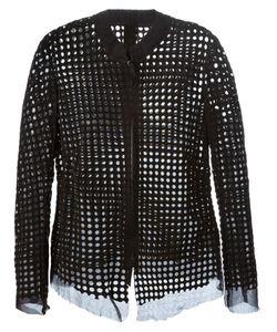 B-USED | Перфорированная Куртка На Молнии