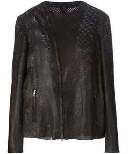 B-USED | Goatskin Perforated Jacket From
