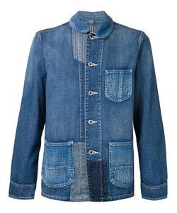 FDMTL | Cotton Patchwork Denim Jacket From