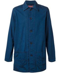 FDMTL | Indigo Cotton Straight Denim Jacket From