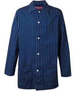 FDMTL | And Cotton Pinstripe Button Up Jacket From