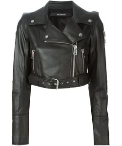DE TOMASO | And Tone Leather San Jose Biker Jacket From