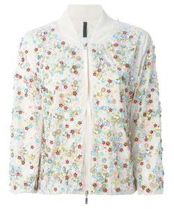 Moncler | Куртка-Бомбер С Декоративной Отделкой