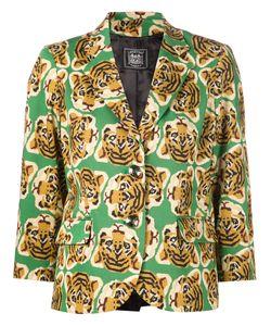 Libertine | Cotton Tiger Print Blazer From
