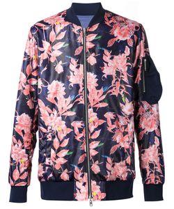 Yoshio Kubo | Multicoloured Flower Print Bomber Jacket From