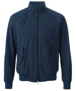 Baracuta | Navy Cotton Blend Bomber Jacket From