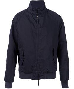 Man | Navy Cotton-Linen Blend Bomber Jacket From 1924