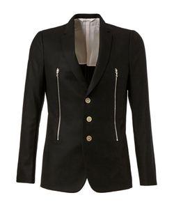 DIGAWEL | Wool Zip Detail Blazer From