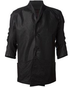 DEVOA | Linen Deconstructed Blazer From