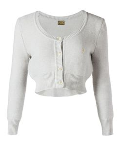 PEARL | Cropped Round Neck Cardigan