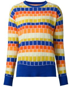 NOVIS | And Merino Square Pattern Jacquard Sweater From