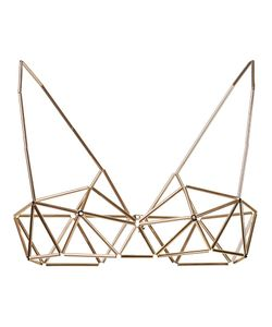 WXYZ BY LAURA WASS | -Tone Geometric Bra From