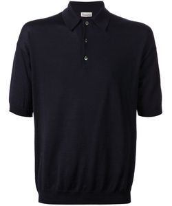 CAMOSHITA BY UNITED ARROWS | Navy Cotton Polo Shirt From