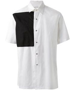 TILLMANN LAUTERBACH | Рубашка Speck С Контрастной Панелью