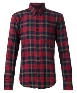 NAKED AND FAMOUS | Multicoloured Cotton Tartan Shirt From