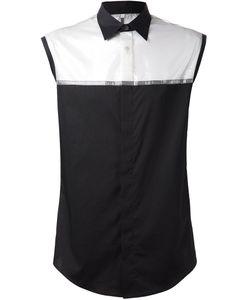 Todd Lynn | Рубашка Без Рукавов С Прозрачной Вставкой