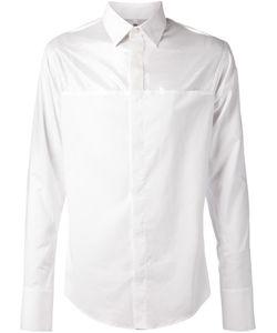 Todd Lynn | Рубашка С Прозрачной Вставкой