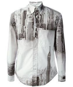 GITMAN BROS | New York Landscape Print Shirt
