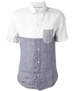 CWST | And Cotton Patchwork Effect Shirt From